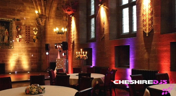 Peckforton Castle Event Lighting