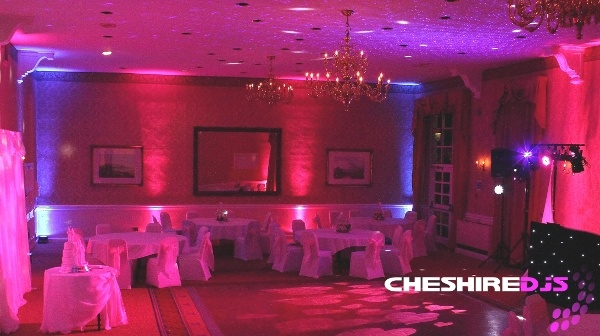 Uplighting At Shrigley Hall